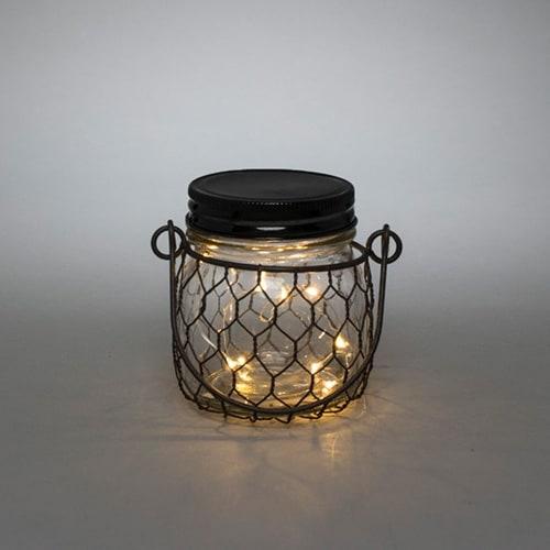 Gerson Company Everlasting Glow Mason Jar