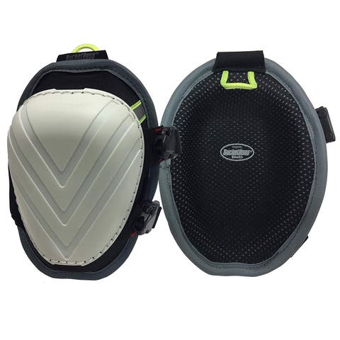 Bucket Boss FX1 Molded Swivel Knee Pad with Elastic Straps & Buckle Closure