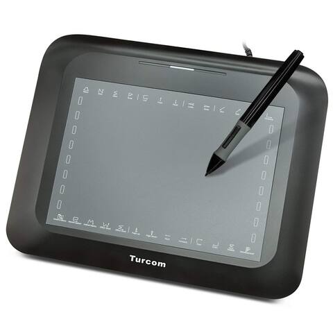 Turcom TS-6608 Graphic Tablet Drawing Tablets and Pen/Stylus for PC Mac Computer 8 x 6 Inches Surface Area