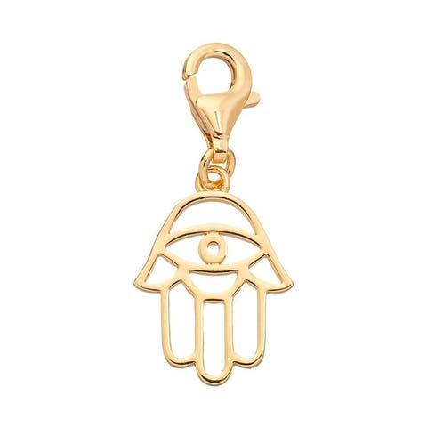 Julieta Jewelry Protection Hand Gold Sterling Silver Charm