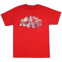 Transformers Men's 80's Vintage Autobots And Dinobot T-Shirt