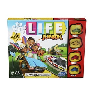 Link to The Game Of Life Junior Board Game For Kids Ages 5 And Up Similar Items in Games & Puzzles