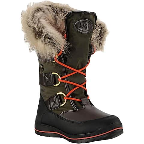 Lugz Womens Winter Boots Cold Weather Mid Calf - Green/Black/Brown/Orange - 8.5 Medium (B,M)