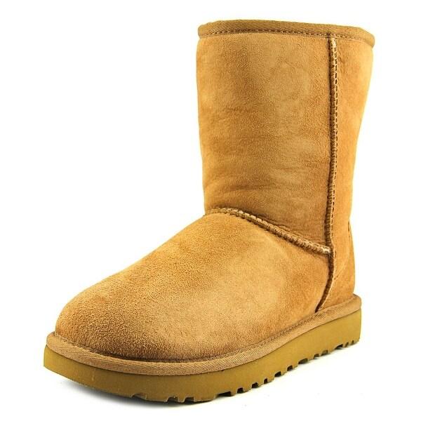 Ugg Australia Classic Short II Round Toe Suede Winter Boot