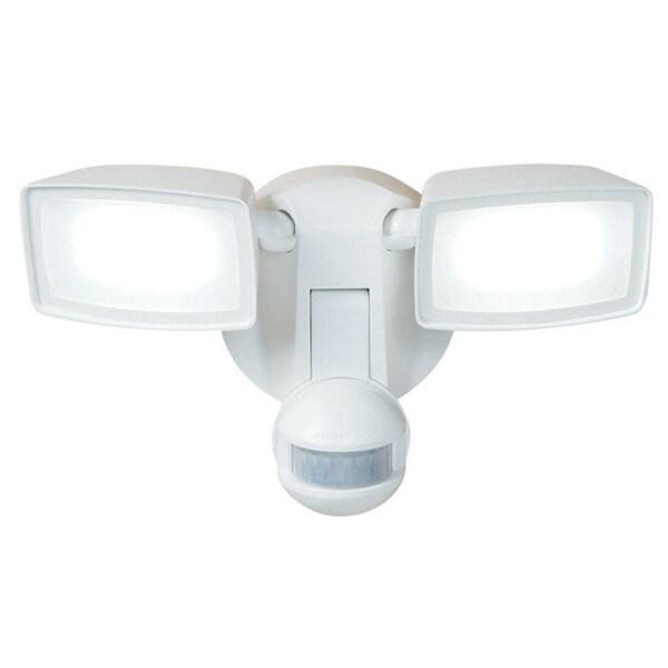 Cooper Lighting MST1850LW Motion-Sensing LED Outdoor Flood Light, 180°