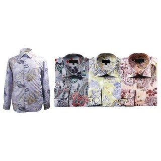 Men's Multi Color Paisley Print Shirt