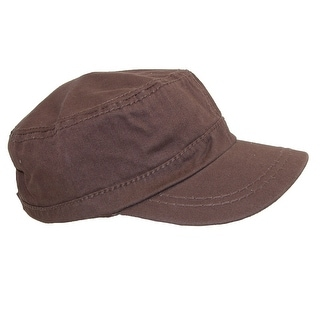 Something Special Cotton Classic Solid Sport Cadet Cap - One Size