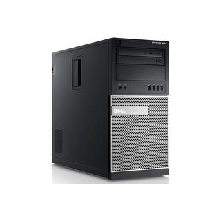 "Dell OptiPlex 990 MT Standard Refurb PC - Intel i5 2400 2nd Gen 3.1 GHz 4GB DIMM DDR3 SATA 3.5"" 750GB DVD-RW Windows 10 Home"