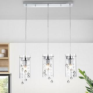 Link to Parnassus 3-Light Kitchen Island Cylinder Pendant Similar Items in Pendant Lights