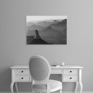 Easy Art Prints Ansel Adams's 'Grand Canyon National Park' Premium Canvas Art