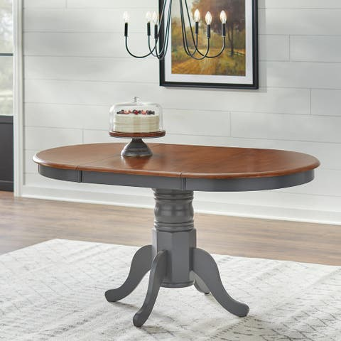 Simple Living Solid Wood Farmhouse Table