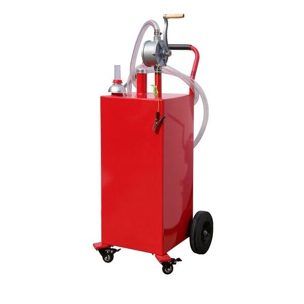 Shop Arksen 35-Gallon Gas Caddy Fuel Tank Portable Storage