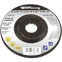 """Forney Industries 4-1/2"""" Grinding Wheel 71886 Unit: EACH"""
