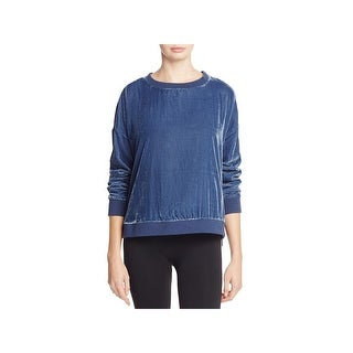 Kenneth Cole Womens Sweatshirt, Crew Velvet Zipper