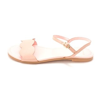 Cole Haan Womens Juliasam Open Toe Casual Slide Sandals PinkTaupe Size 60
