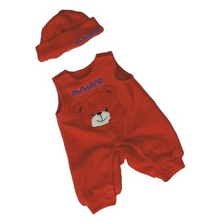 Baby Doll Clothes Red Jumper With