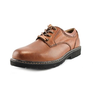 Dockers Shelter Men W Round Toe Leather Brown Oxford