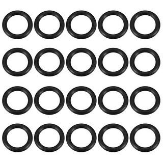 O-Rings Nitrile Rubber Gasket, 20mm Inner Diameter, 27mm OD, 3.5mm Width, 20pcs
