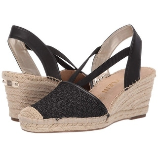 Link to Anne Klein Womens Aneesa Closed Toe Casual Espadrille Sandals Similar Items in Women's Shoes