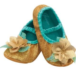 Toddler Disney Jasmine Costume Slippers
