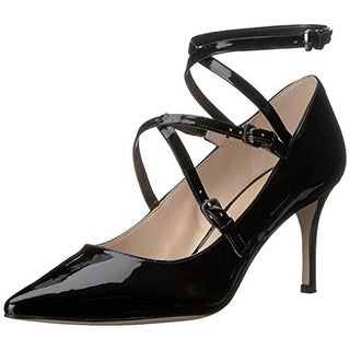 Nine West Womens Mykela Pumps Strappy Pointed Toe