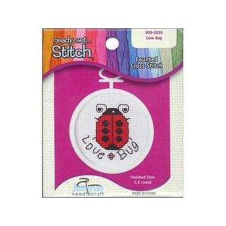Janlynn Cross Stitch Mini Love Bug