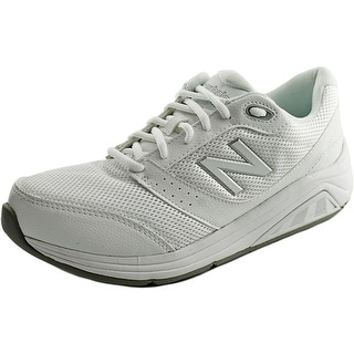 New Balance WW928 Women D Round Toe Synthetic White Walking Shoe
