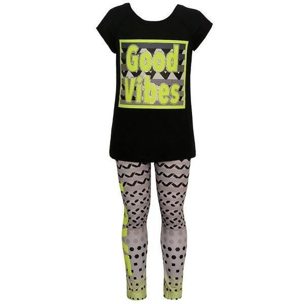 b92948bba8d55d Shop Little Girls Black Lime