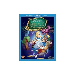 ALICE IN WONDERLAND-60TH ANNIVERSARY EDITION (BLU-RAY/DVD/COMBO)