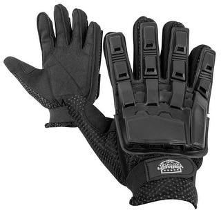 Valken V TAC Full Finger Plastic Back Gloves Black XL
