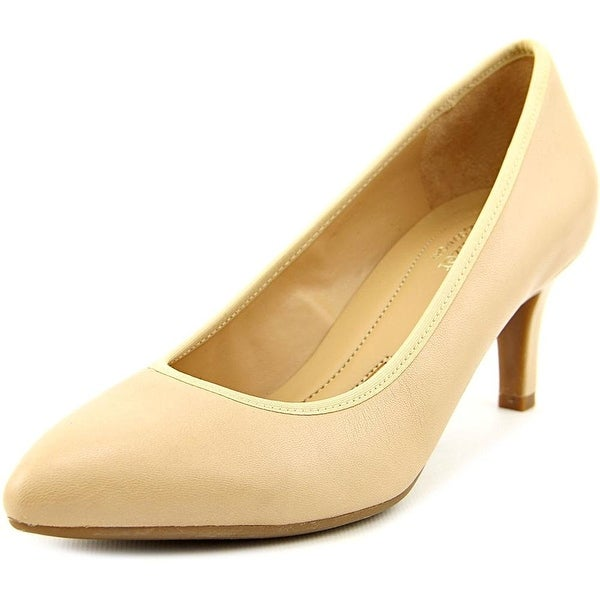 Naturalizer Womens Oden Leather Pointed Toe Classic Pumps