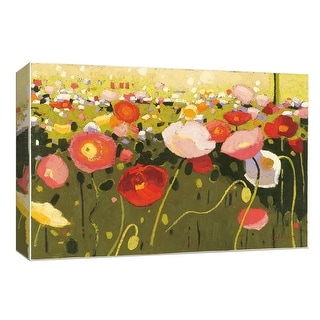 "PTM Images 9-153880  PTM Canvas Collection 8"" x 10"" - ""Confetti III"" Giclee Flowers Art Print on Canvas"