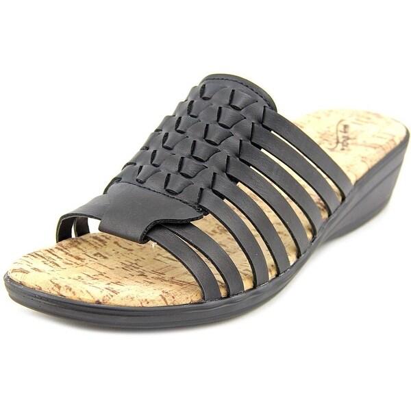 Easy Street Jana Women WW Open Toe Synthetic Slides Sandal