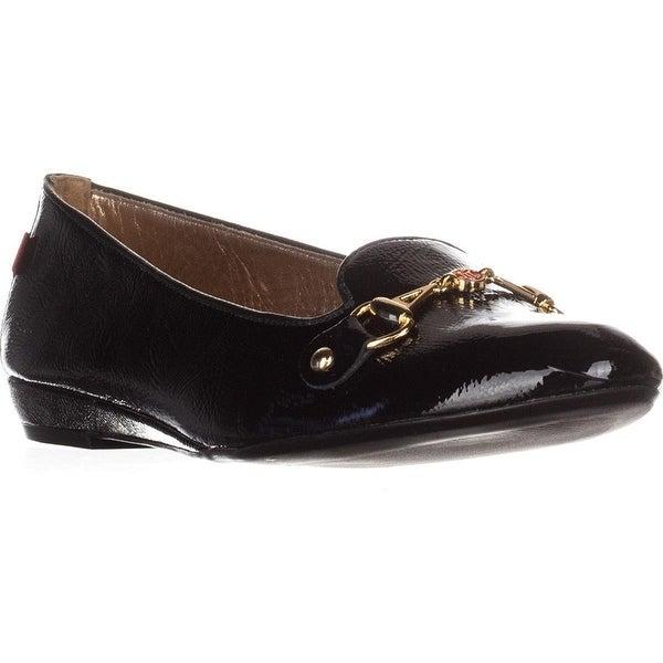 Marc Joseph Bryant Park Flat Loafers - Black Patent - 10.5