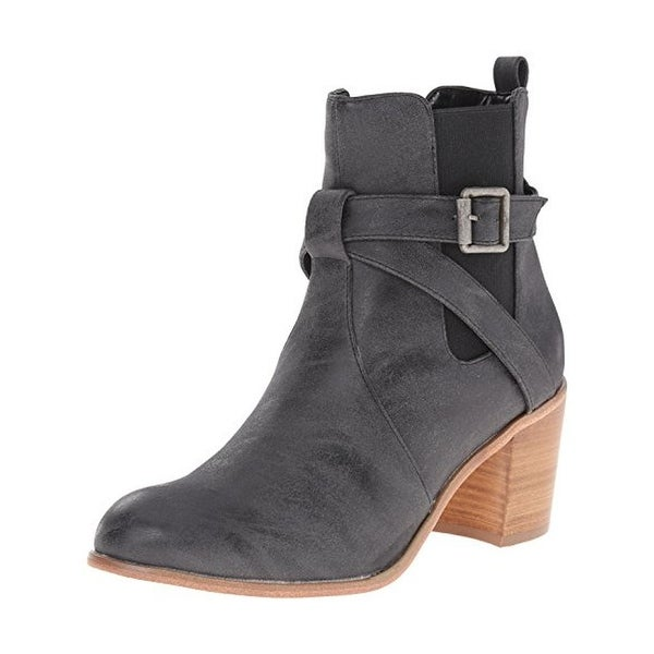 Sbicca Womens Castanets Chelsea Boots Belted - 6 medium (b,m)