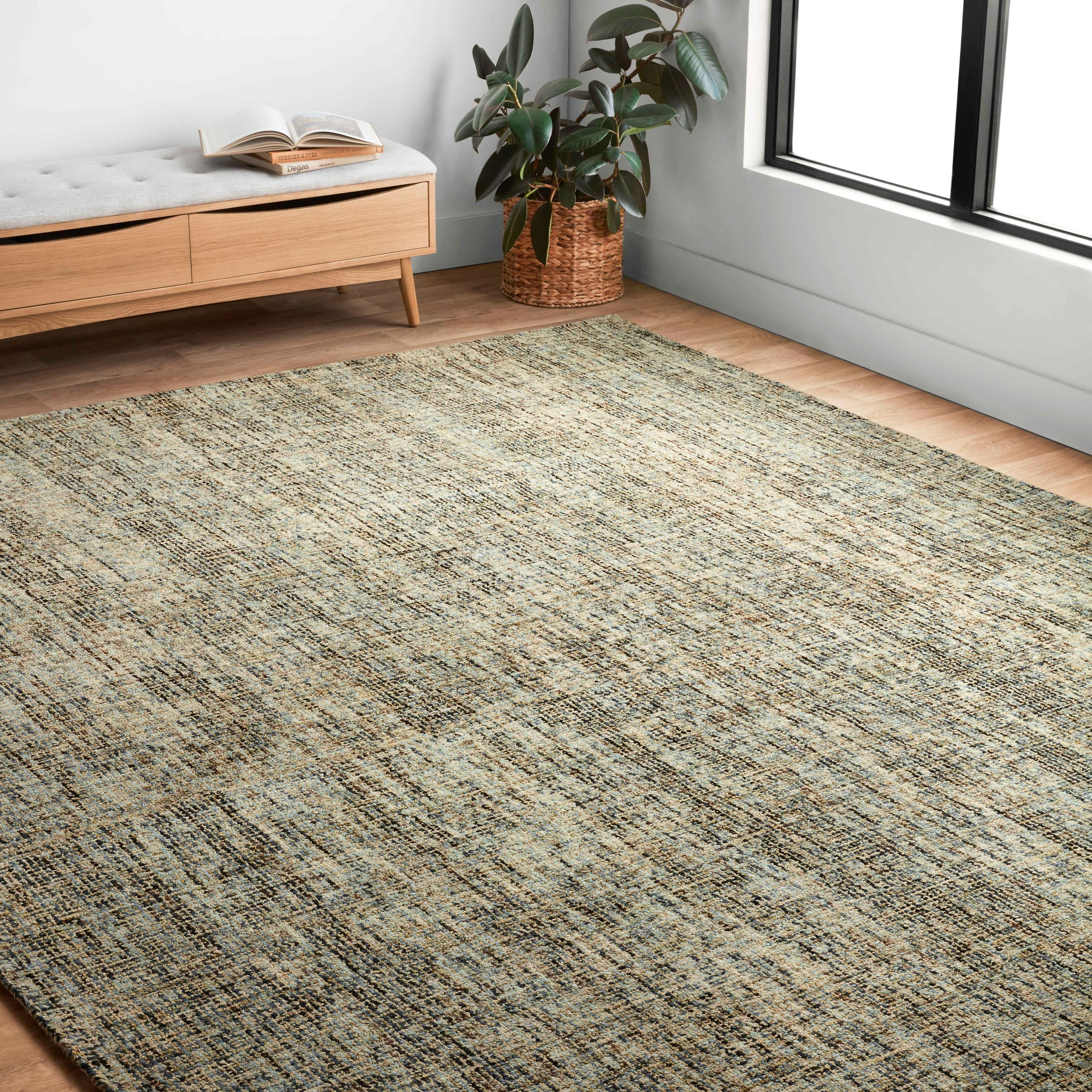 Alexander Home Sandstone Abstract Contemporary Rug Overstock 30920015