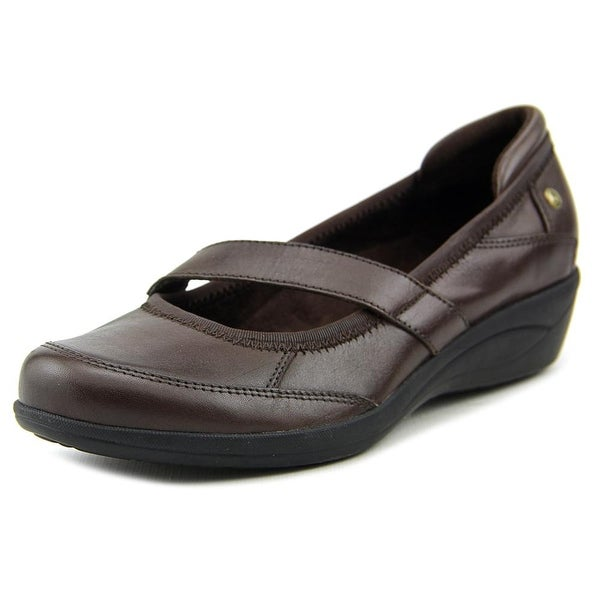 Hush Puppies Velma Oleena Women Dark Brown Flats