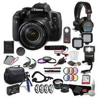 Canon EOS Rebel T6i DSLR Camera w/ 18-135mm Lens Filmmaker Kit