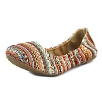 Lucky Brand Womens Emmie Closed Toe Ballet Flats