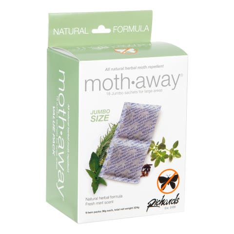HERBAL Moth Away, Non Toxic, 18 Sachets