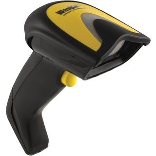 Wasp 633808929602 Wasp WLS9600 Laser Handheld Barcode Scanner - Cable Connectivity - 100 scan/s - 29 Scan Distance - 1D -