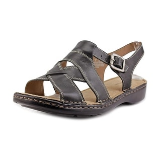 Naturalizer CABE W Open-Toe Leather Slingback Sandal