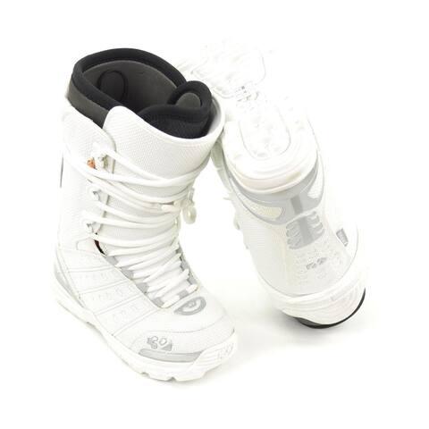 Thirtytwo Womens Ultralight Snowboard Boots, White, 6