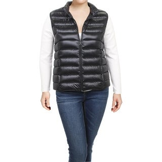 Aqua Womens Packable Vest Fall Down