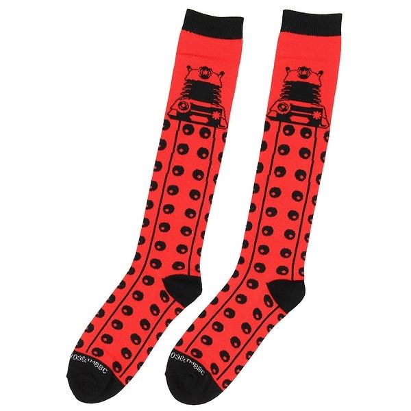Doctor Who-Knee High Socks-Size 4-10