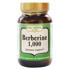 Only Natural Berberine 1000mg 50 Vcap