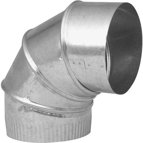 "Imperial Mfg Group 7"" 30Ga Galv Adj Elbow GV1329-C Unit: EACH"