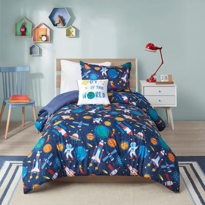 Conner Outer Space Comforter Set by Mi Zone Kids