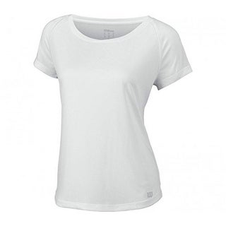 Wilson Womens Core Cap Sleeve, White, S (3 options available)