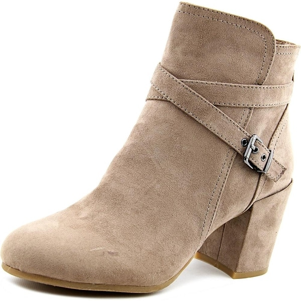 Madden Girl Rightonn Women Round Toe Synthetic Gray Ankle Boot